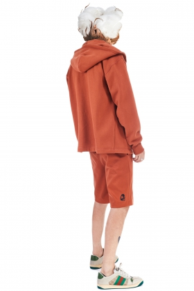 notRainProof OPEN-FRONT ORGANIC COTTON HODDIE